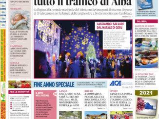 La copertina di Gazzetta d'Alba in edicola martedì 22 dicembre
