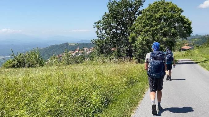 L'altra Torino-Savona misura 206 chilometri e va percorsa a piedi