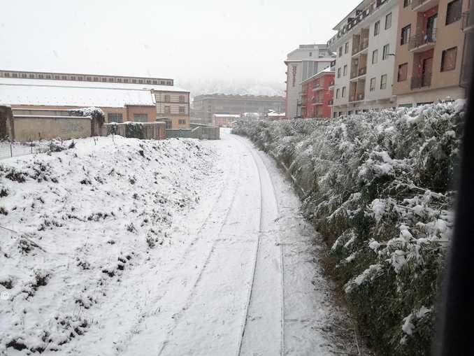 Le foto della prima nevicata stagionale 2