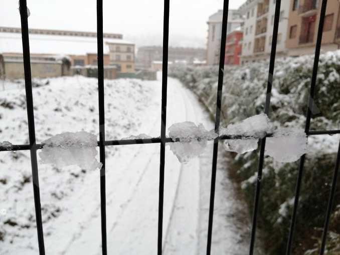 Le foto della prima nevicata stagionale 3