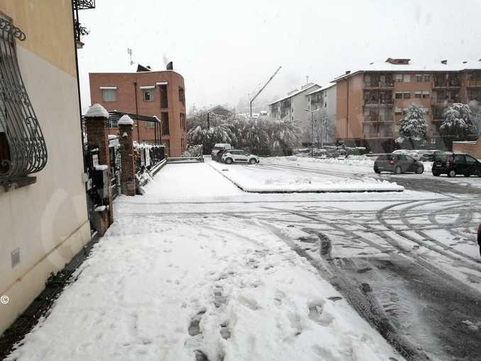 Le foto della prima nevicata stagionale 5