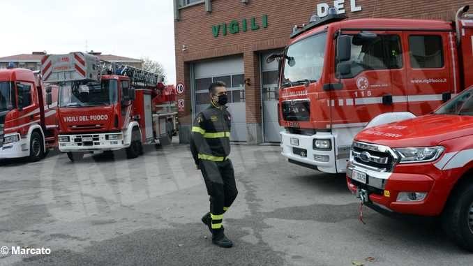 Bruno Rocco è il nuovo capo distaccamento dei Vigili del fuoco della città
