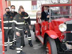 Bruno Rocco è il nuovo capo distaccamento dei Vigili del fuoco della città 3