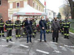Bruno Rocco è il nuovo capo distaccamento dei Vigili del fuoco della città 5
