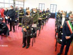 Bruno Rocco è il nuovo capo distaccamento dei Vigili del fuoco della città 10