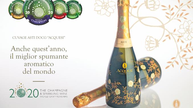 Un anno ricco di riconoscimenti internazionali per l'Asti spumante e il Moscato d'Asti
