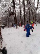 Le foto della prima nevicata stagionale 14