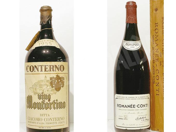 A Torino si vendono bottiglie da 100mila euro