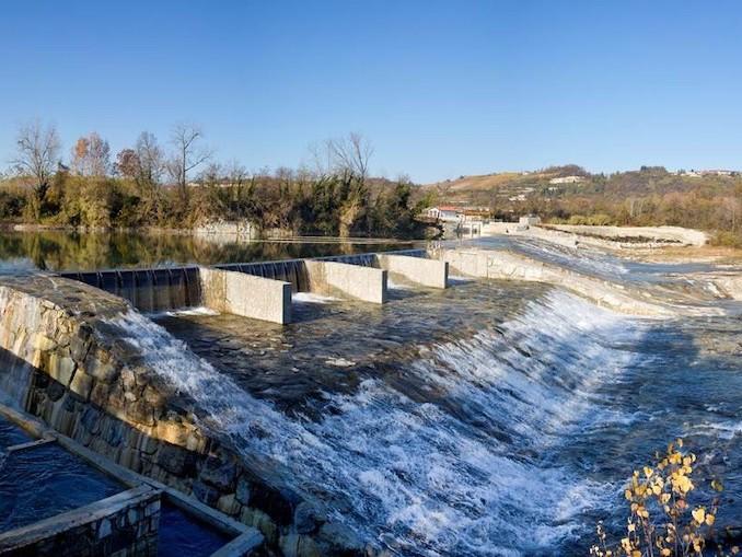 centrale idroelettrica Santa Vittoria Alba