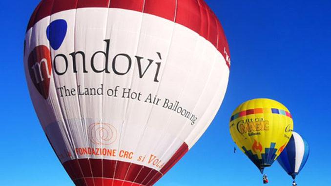 Covid: Piemonte zona gialla, tornano mongolfiere a Mondovì