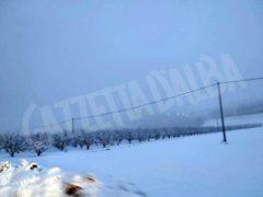 Le foto della prima nevicata stagionale 12