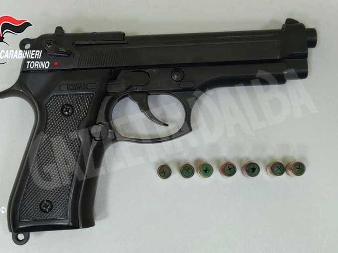 pistola scenica
