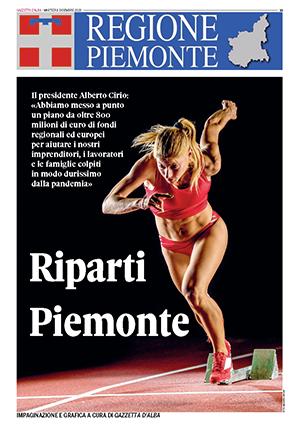 Riparti Piemonte, gli sfogliabili di Gazzetta D'alba 1