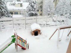 Le foto della prima nevicata stagionale 18