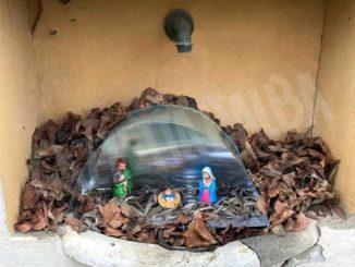 Quest'anno i presepi si ammirano lungo la strada verso Scaparoni 2