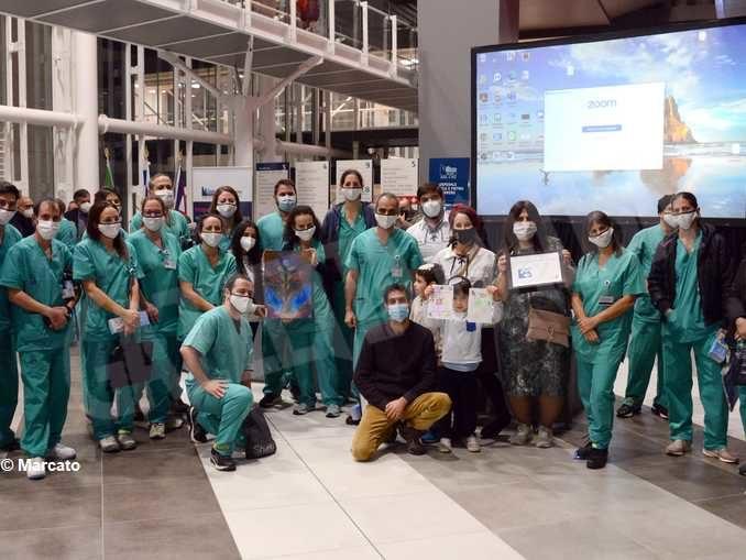I medici israeliani di Verduno celebrano la festa di Chanukkah col premier Netanyahu 2