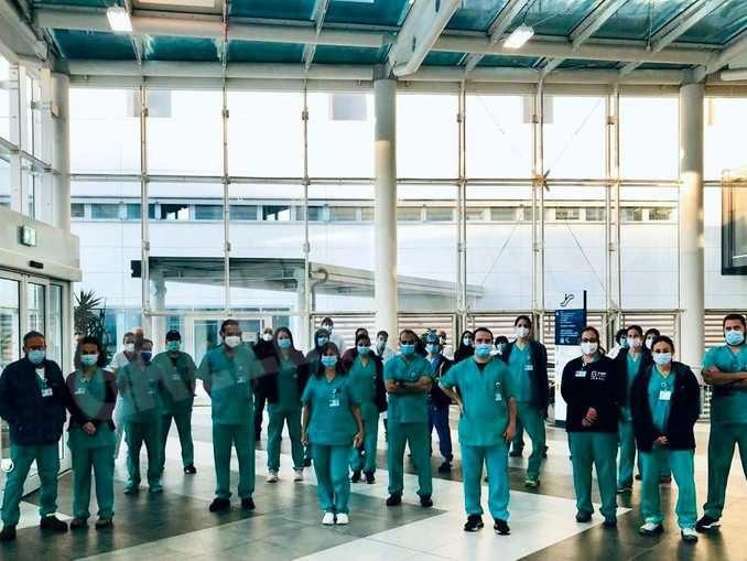Primo giorno di servizio per la delegazione israeliana di medici e infermieri 3