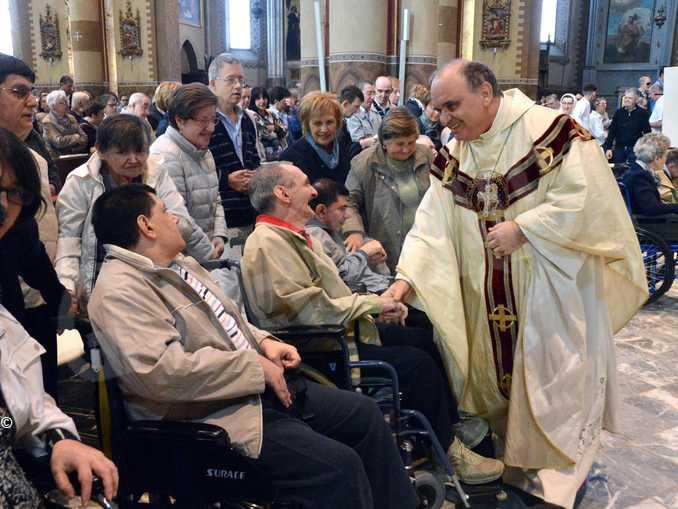 vescovo brunetti disabili