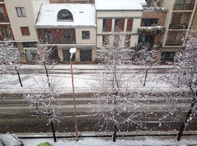 Le fotografie della prima neve del 2021 1