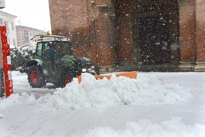 Le fotografie della prima neve del 2021 10