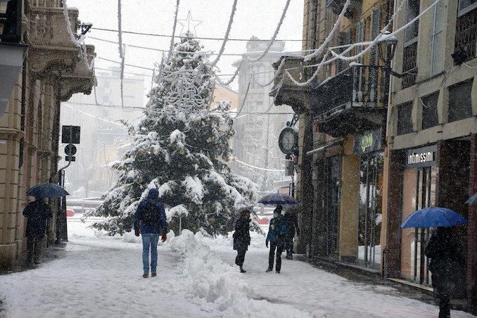 Le fotografie della prima neve del 2021 11