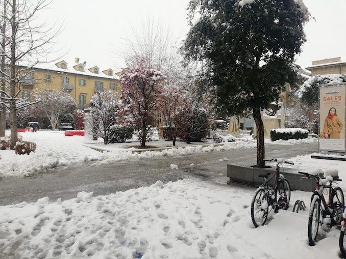 Le fotografie della prima neve del 2021 18