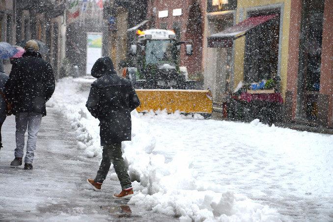 Le fotografie della prima neve del 2021 13