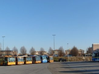 Alba: ampliamento temporaneo dell'autostazione di piazzale Dogliotti