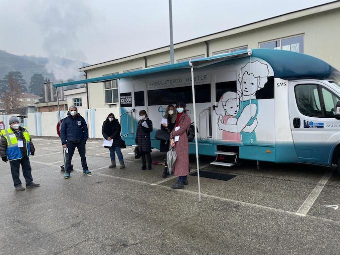Ambulatorio mobile a Santo Stefano Belbo