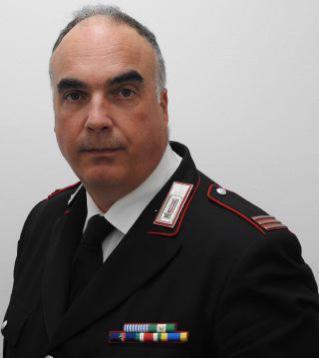 Il maresciallo maggiore Andrea Dal Mas al comando della stazione di Castello d'Annone
