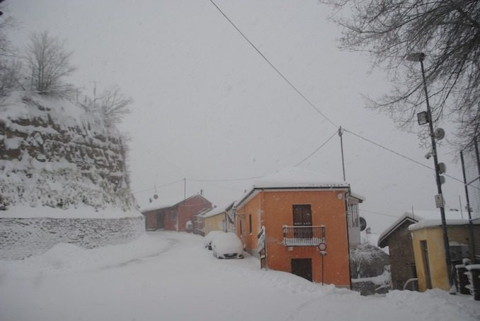 Le fotografie della prima neve del 2021 73