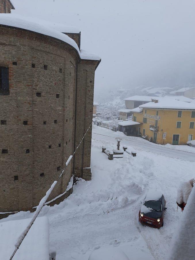 Le fotografie della prima neve del 2021 74