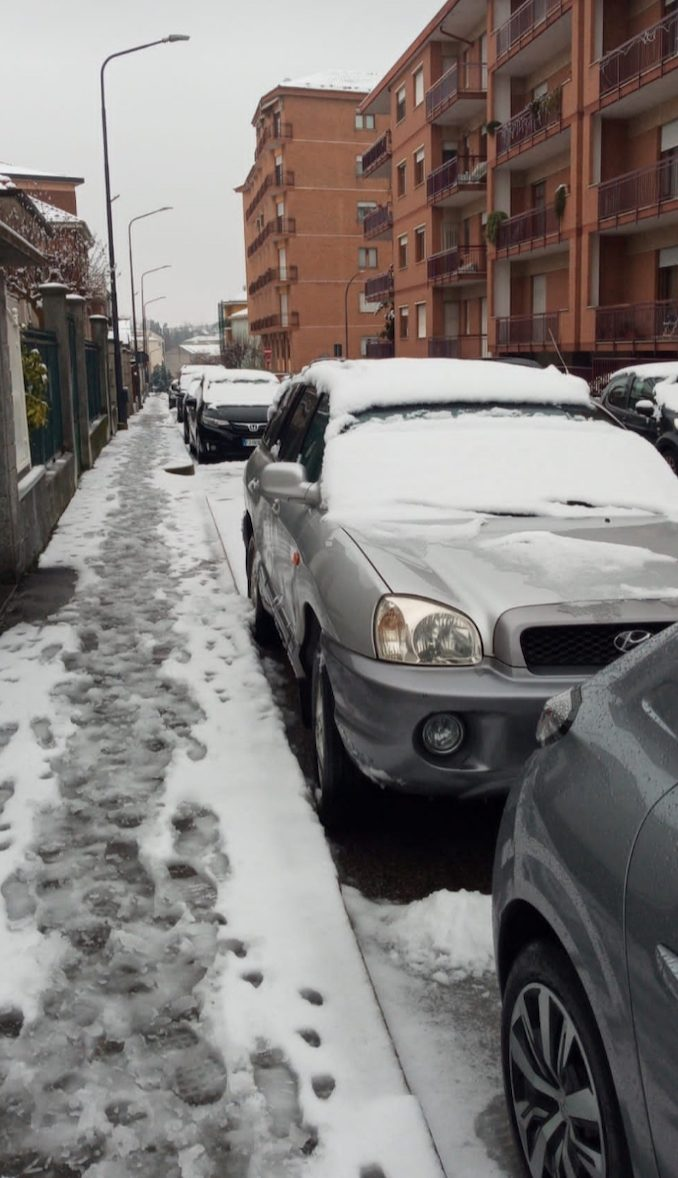 Le fotografie della prima neve del 2021 31