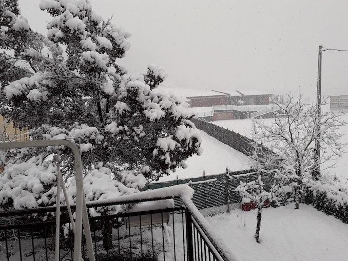 Le fotografie della prima nevicata del 2021 2