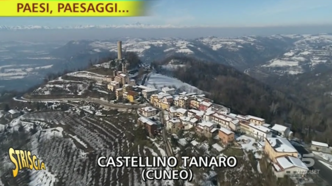 Castellino Tanaro, in Alta Langa, protagonista a Striscia la notizia