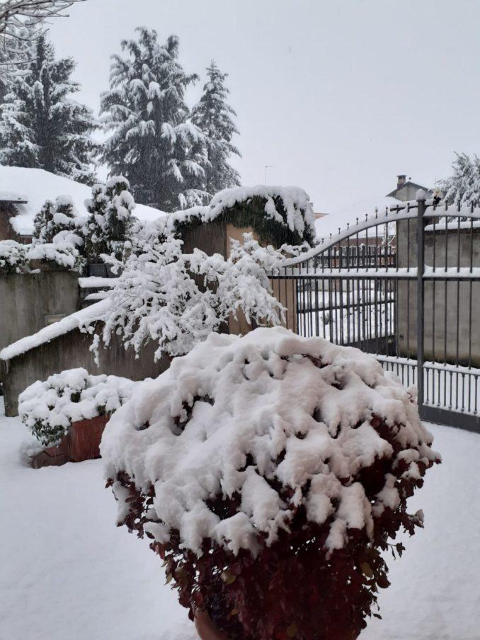 Le foto della prima nevicata del 2021 1