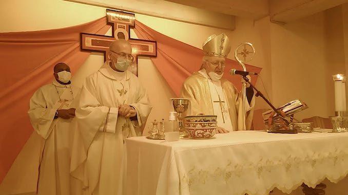 L'arcivescovo Cesare Nosiglia ha presieduto la Messa alla Madonna dei fiori