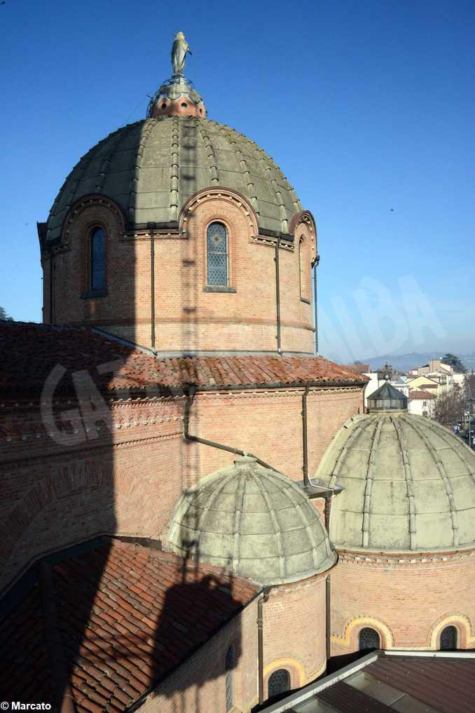 Chiesa Moretta campanile lavori2