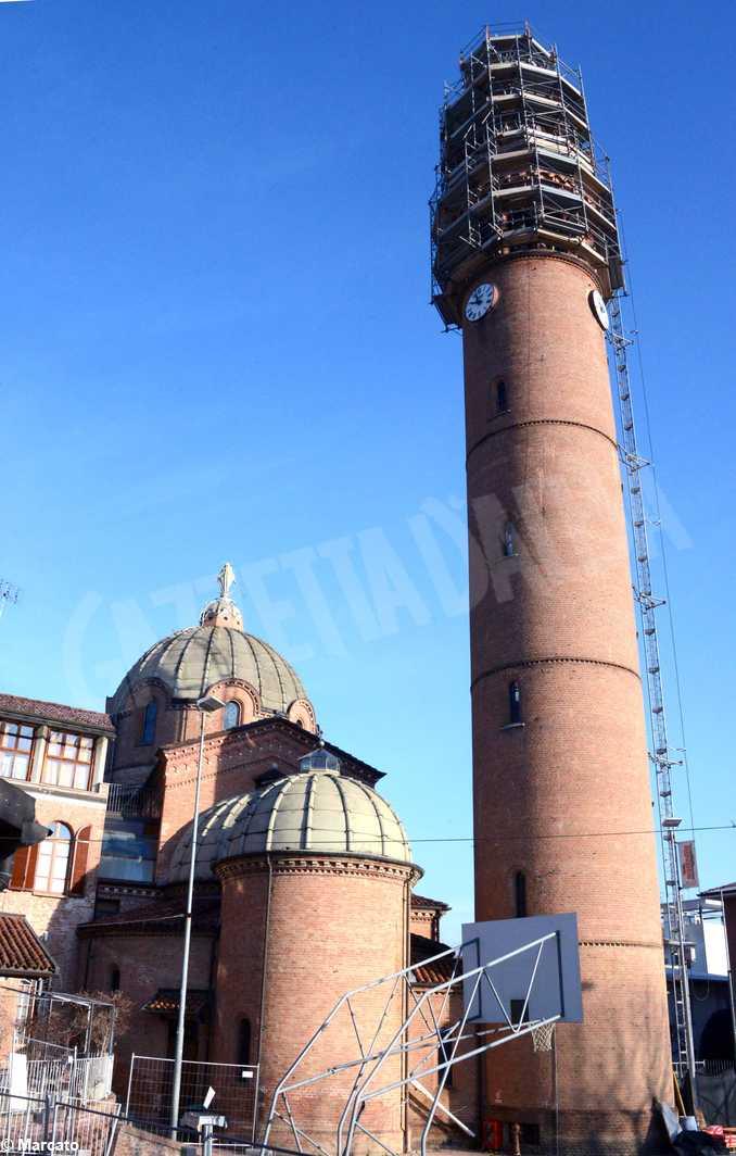 Chiesa Moretta campanile lavori5