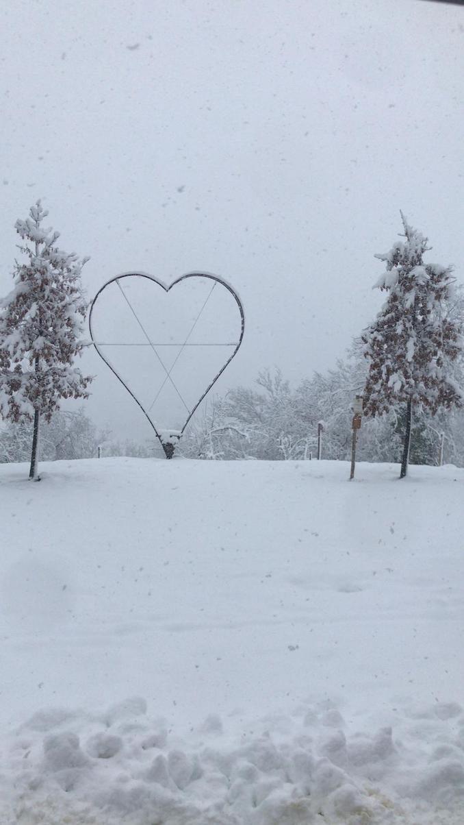 Le fotografie della prima nevicata del 2021 6