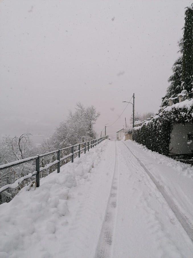 Le fotografie della prima neve del 2021 6