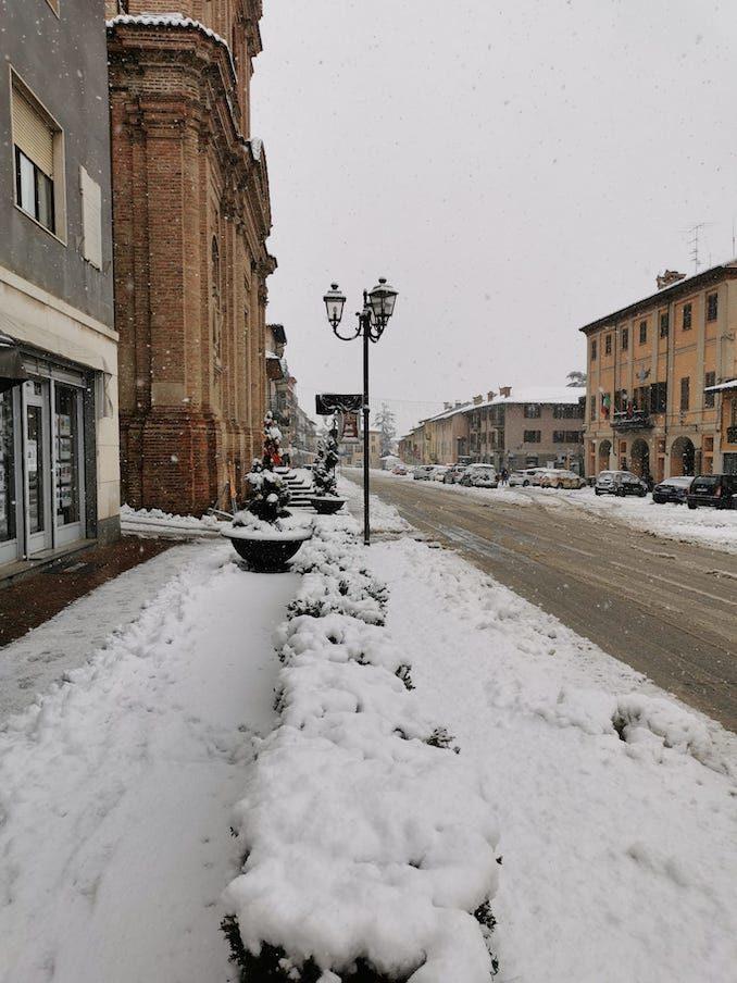 Le fotografie della prima neve del 2021 15