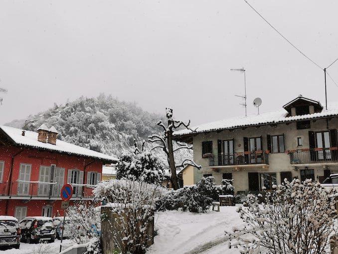 Le fotografie della prima neve del 2021 16