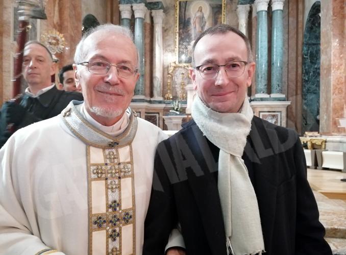 Don Beppe Trucco con Lino Ferrero