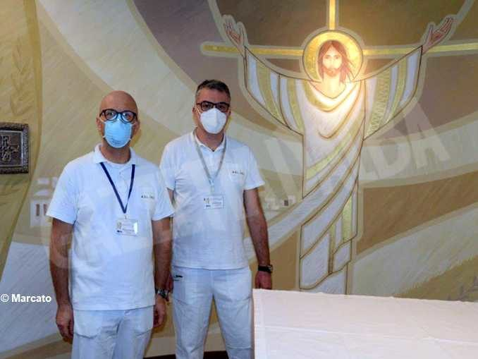 Don Domenico: celebro la Messa e cerco di aiutare