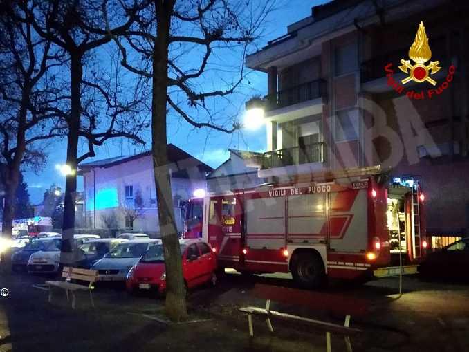 Evacuazione edificio Cuneo