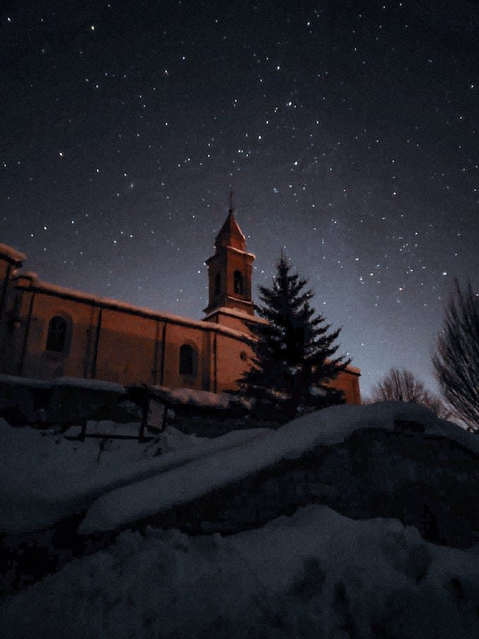 Black out a Feisoglio: il paese dell'Alta Langa rimane al buio in un'incredibile notte stellata 1
