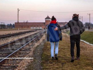 Promemoria Auschwitz con Deina