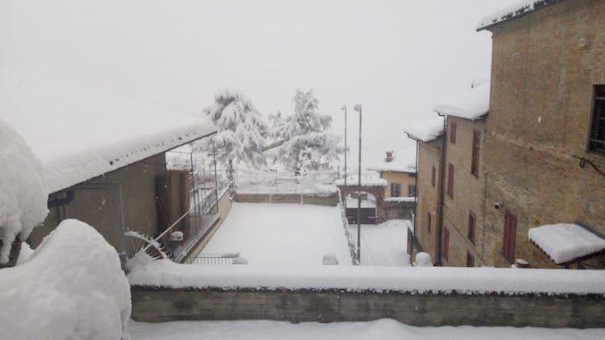 Le fotografie della prima neve del 2021 47