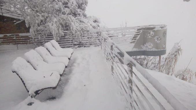 Le fotografie della prima neve del 2021 48